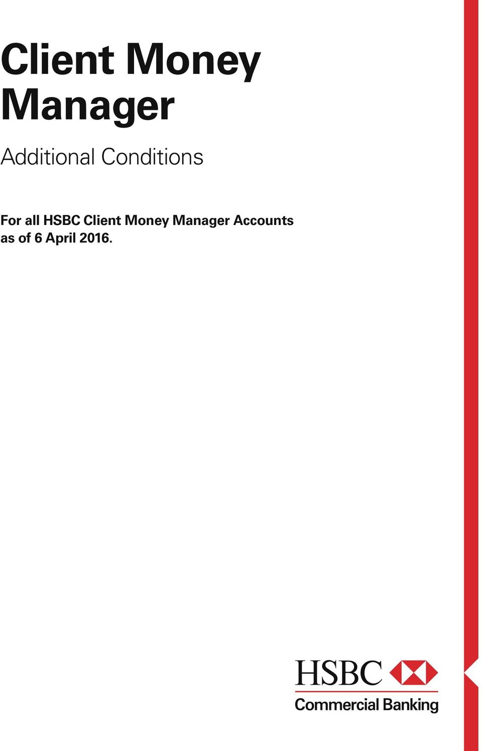 all HSBC  Accounts as of 6