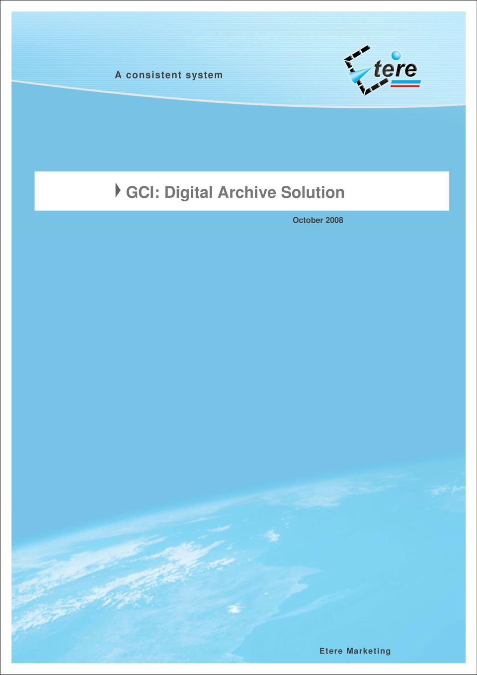 Archive Solution