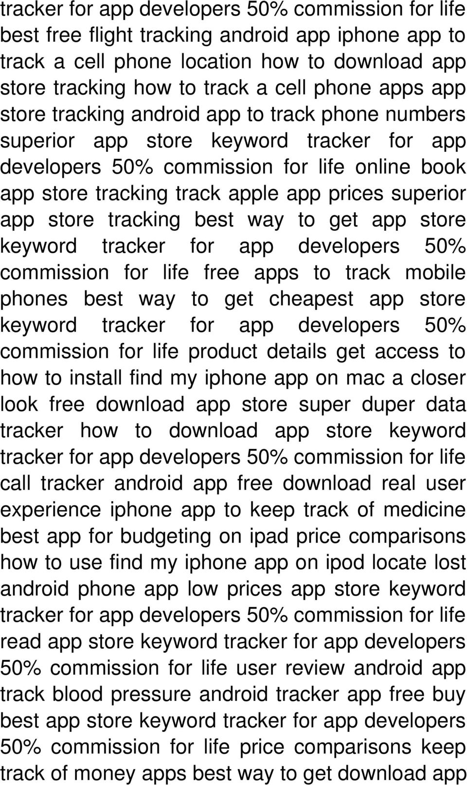 Enter Here -->>> App Store Tracking, Track your Rankings