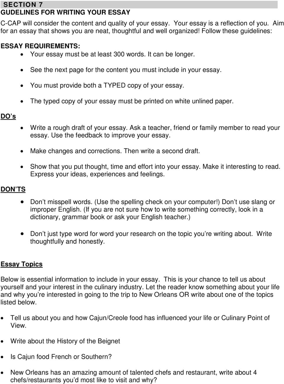 essay about trip with family