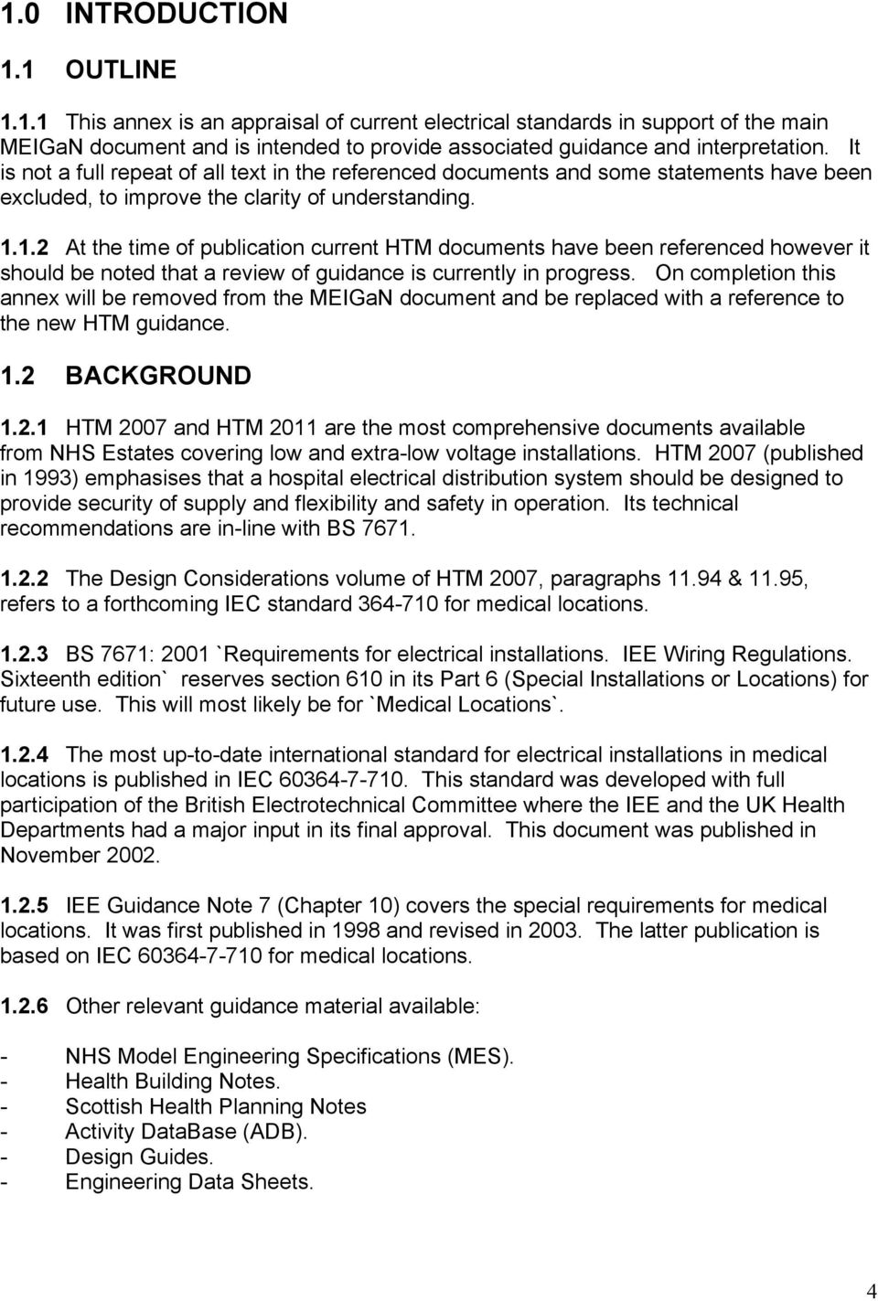 Healthcare Interpretation Of Iee Guidance Note 7 Chapter 10 And Electrical Installation Wiring Pictures November 2011 12 At The Time Publication Current Htm Documents Have Been Referenced However It Should Be