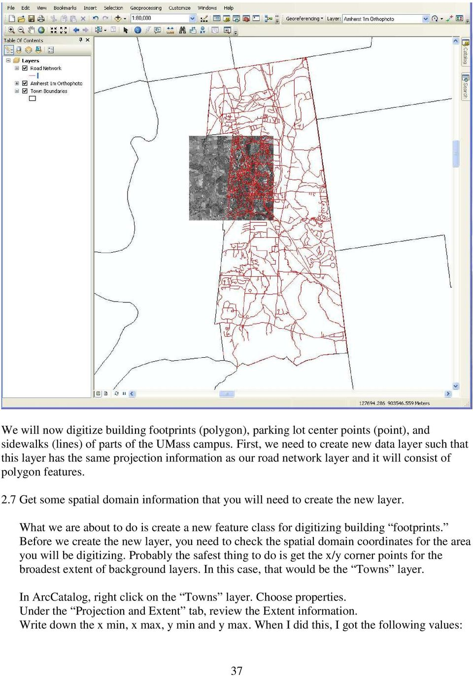 Online Digitizing and Editing of GIS Layers (On-Screen or