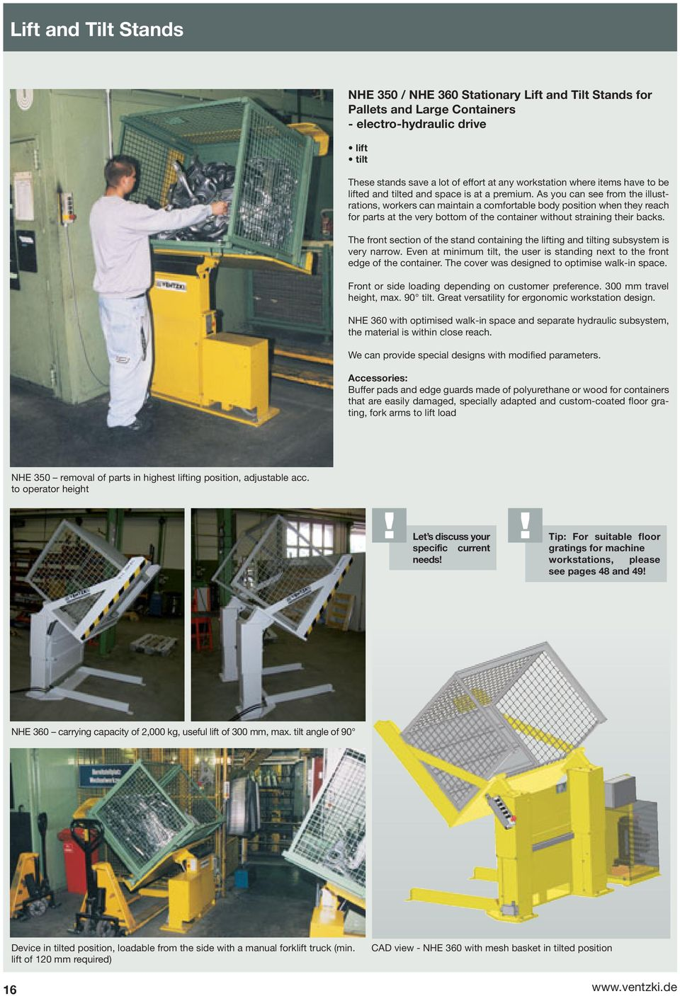 Handling Systems Your Partner For Efficiency And Ergonomics Pdf Spannfixcircuitboardholder As You Can See From The Illustrations Workers Maintain A Comfortable Body Position When