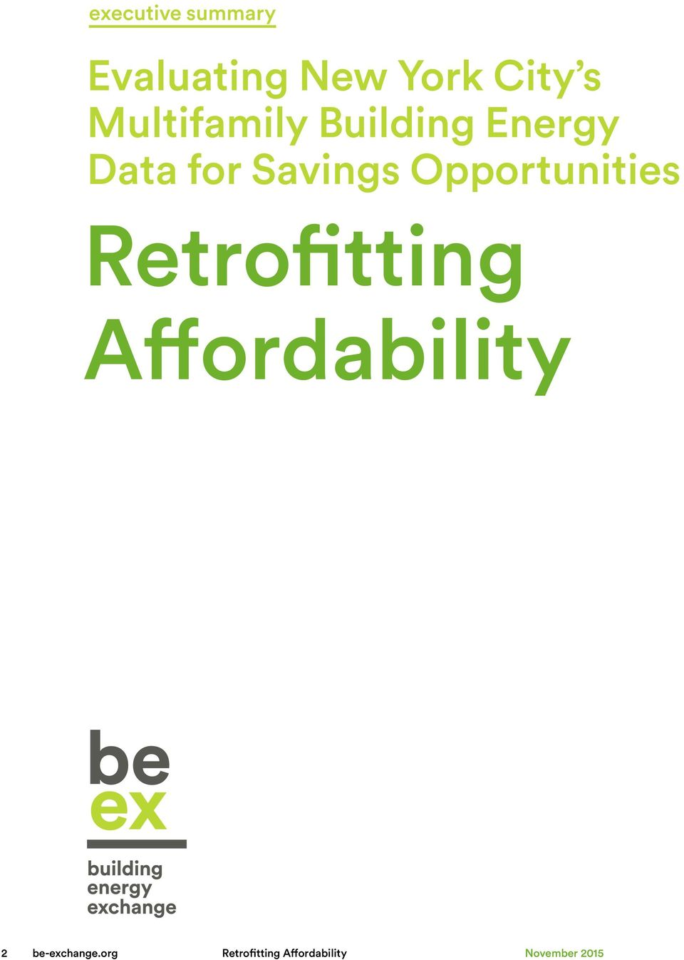 Opportunities Retrofitting Affordability 2