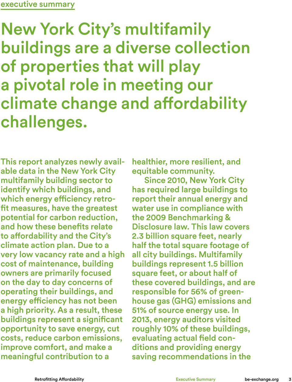 carbon reduction, and how these benefits relate to affordability and the City s climate action plan.