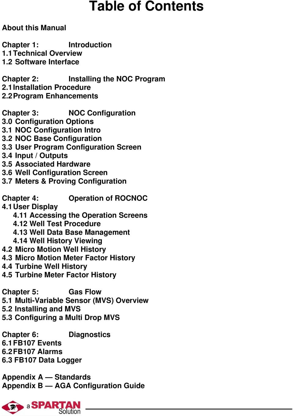Spartan Controls Net Oil Computer Program Reference Manual Pdf Micro Motion Wiring Diagram 5 Associated Hardware 36 Well Configuration Screen 37 Meters Proving Chapter 4 Operation