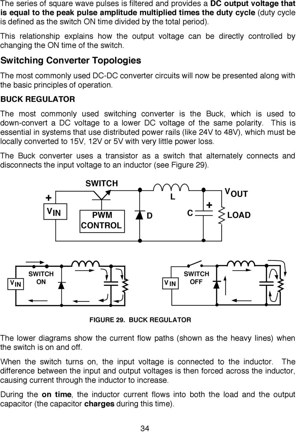 Switching Regulators Pdf 3 Output Isolated Flyback Regulator Circuit Diagram Using Lm2577 Converter Topologies The Most Commonly Used Dc Circuits Will Now Be Presented