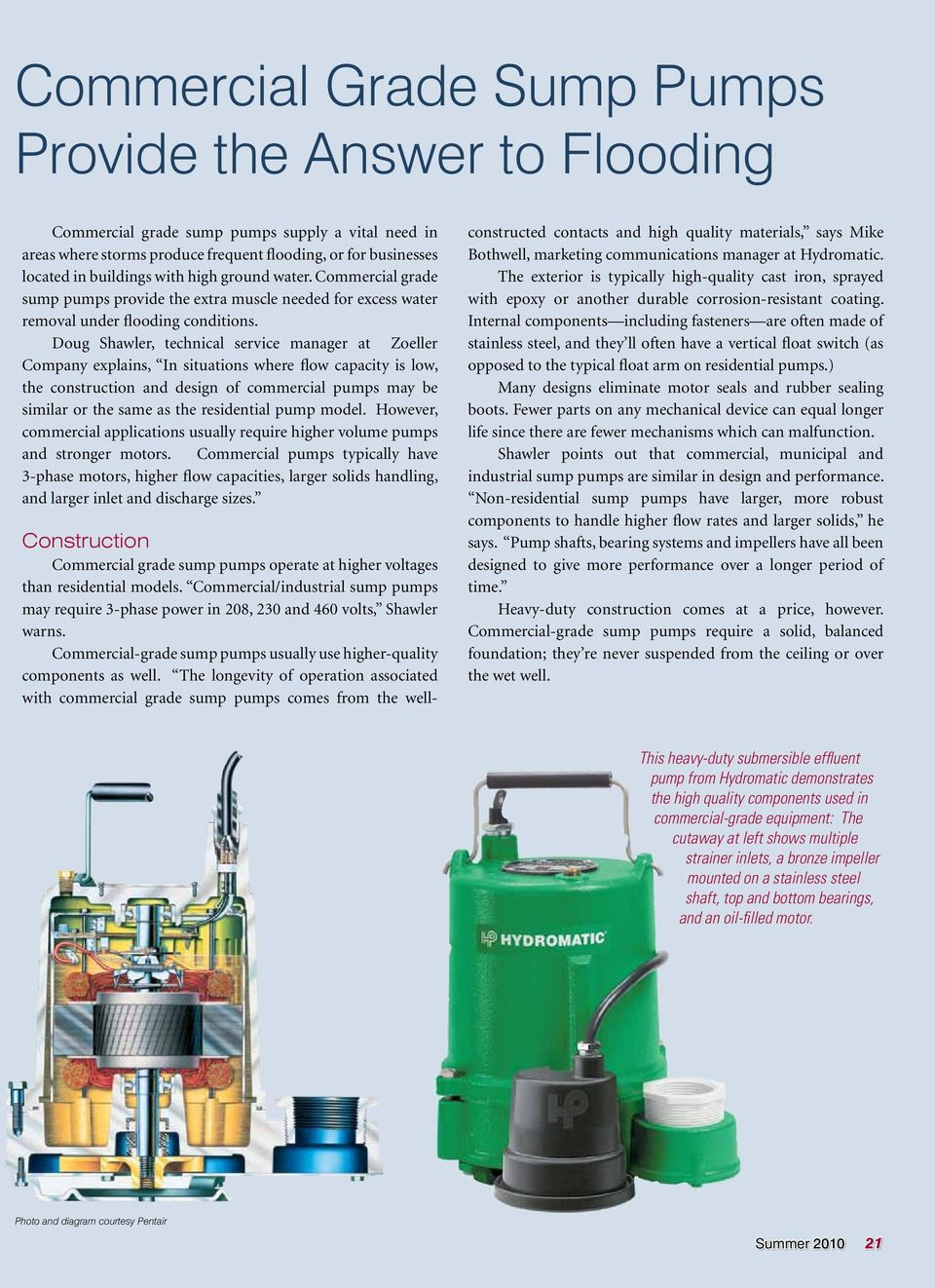 Commercial Sump Pump Systems - PDF