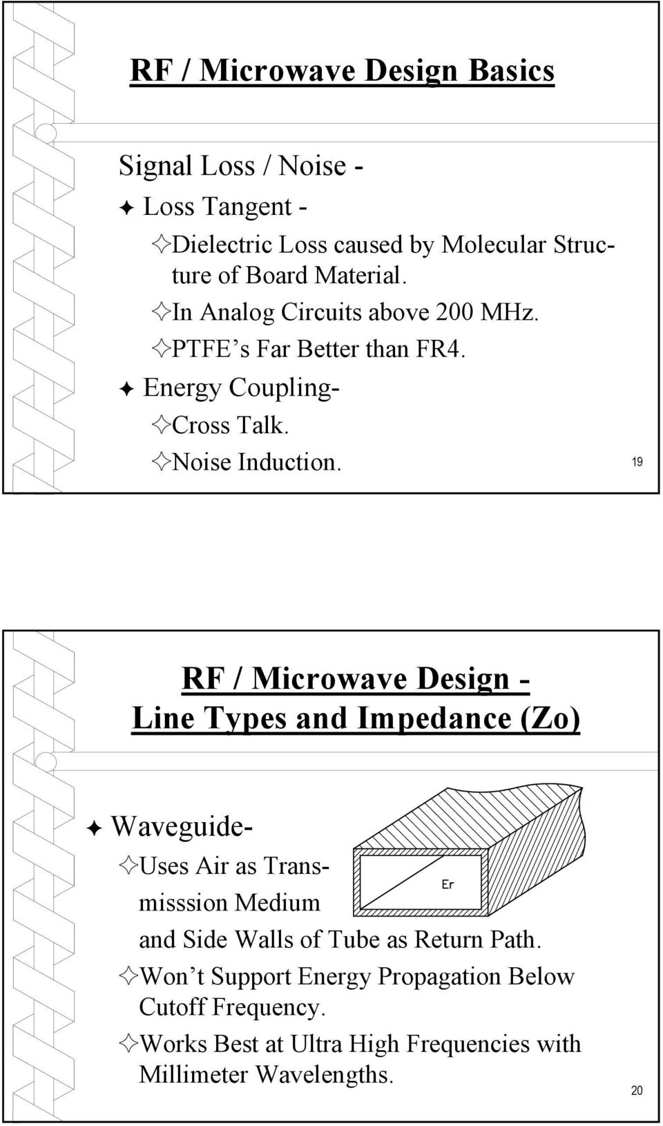 Rf Microwave Pc Board Design And Layout Pdf Circuits Bridge Electronic Filter Topology Image Impedance Noise Induction