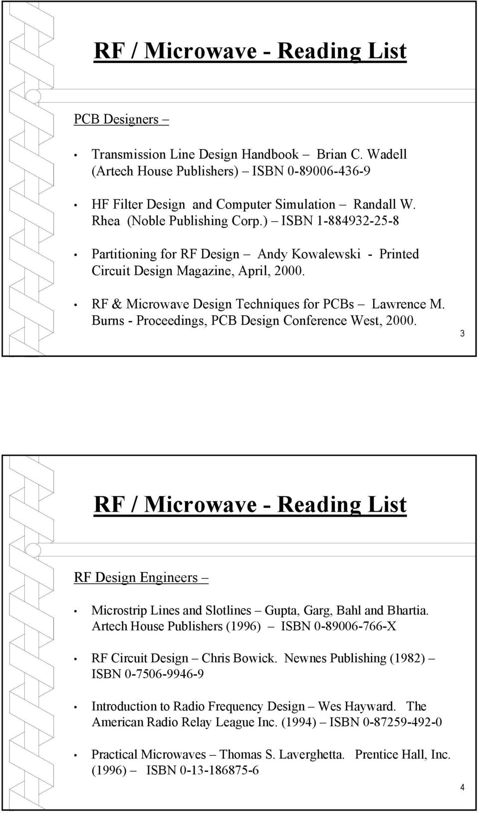 Rf Microwave Pc Board Design And Layout Pdf Frequency Pcb Services Printed Circuit Assembly For Sale Burns Proceedings Conference West 2000 3