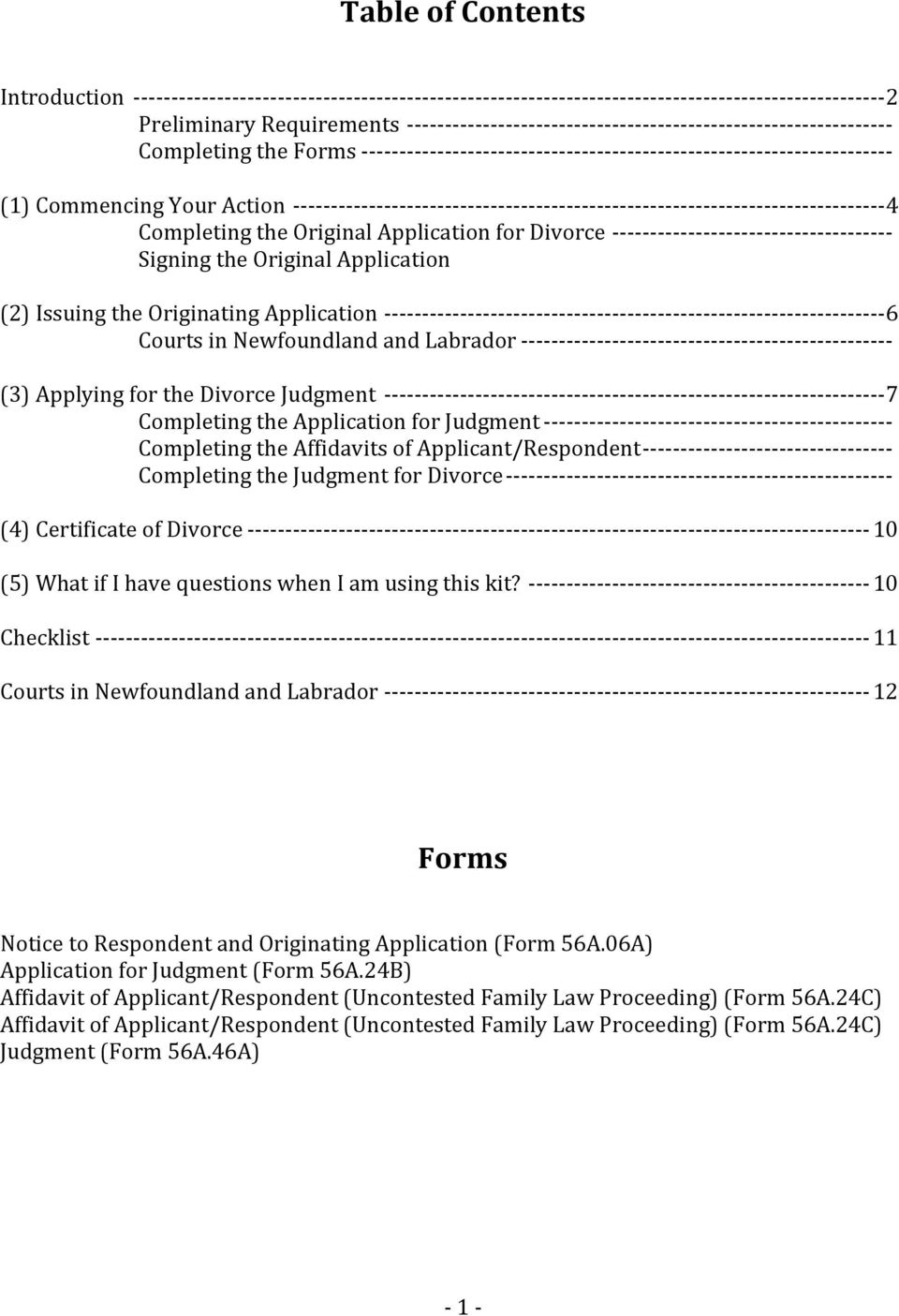 Joint or co applicant uncontested divorce self help kit pdf 3 introduction a divorce is the legal and formal ending of a marriage solutioingenieria Choice Image