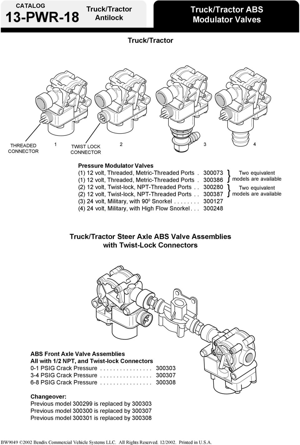 Bendix ABS for Power Vehicles - PDF