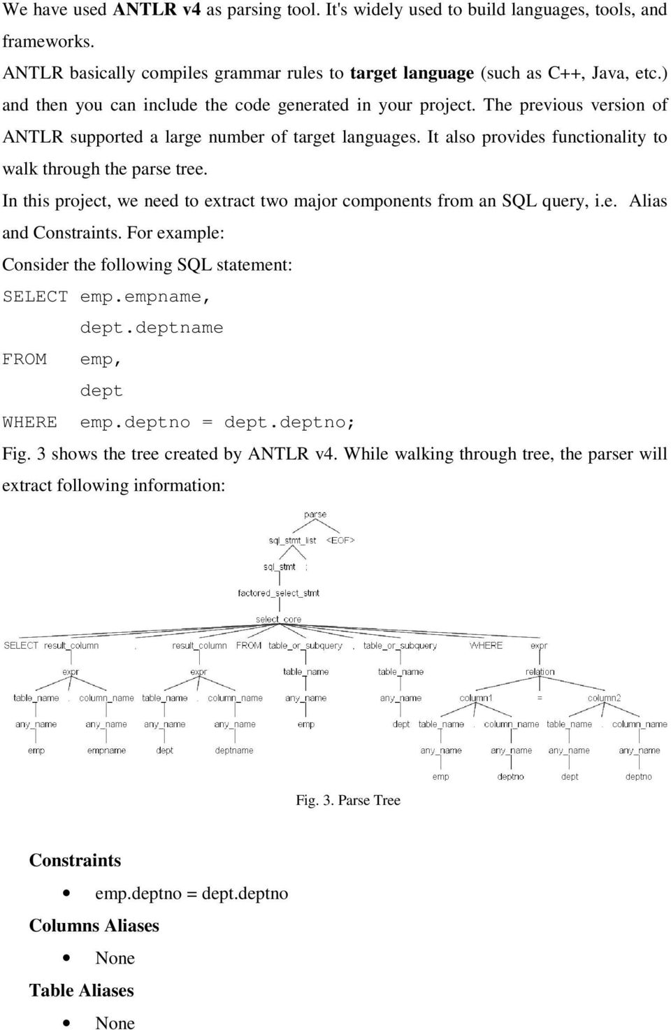 Deriving Application Level Relationships by Analysing the