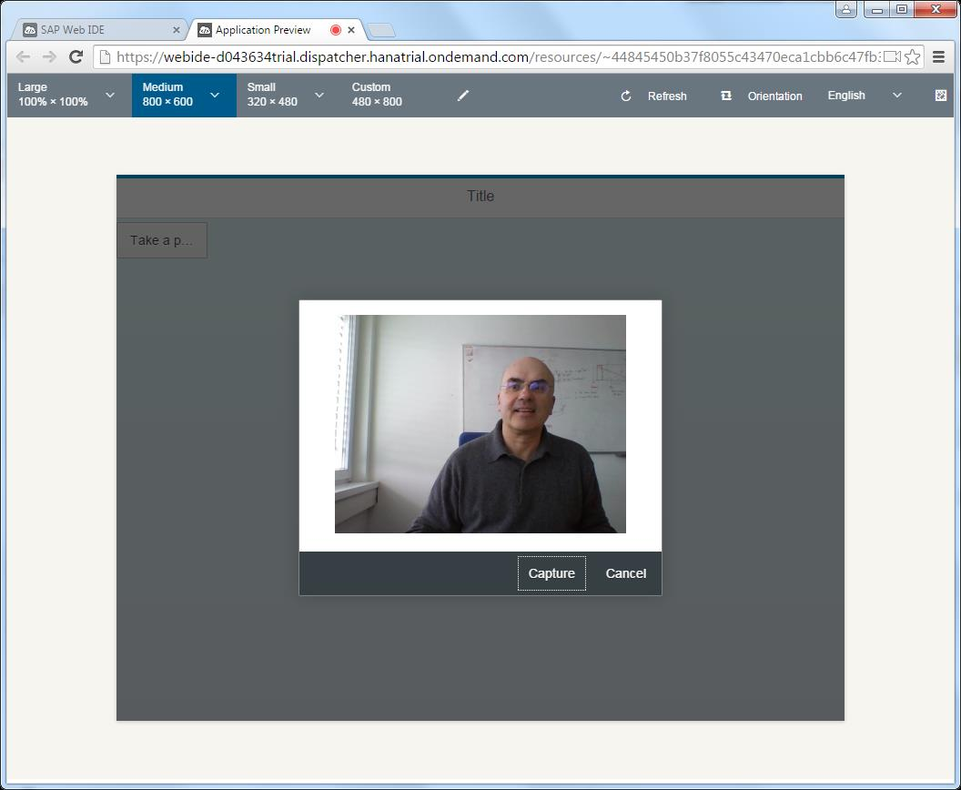 SAP Web IDE / HAT: How to develop hybrid mobile apps with