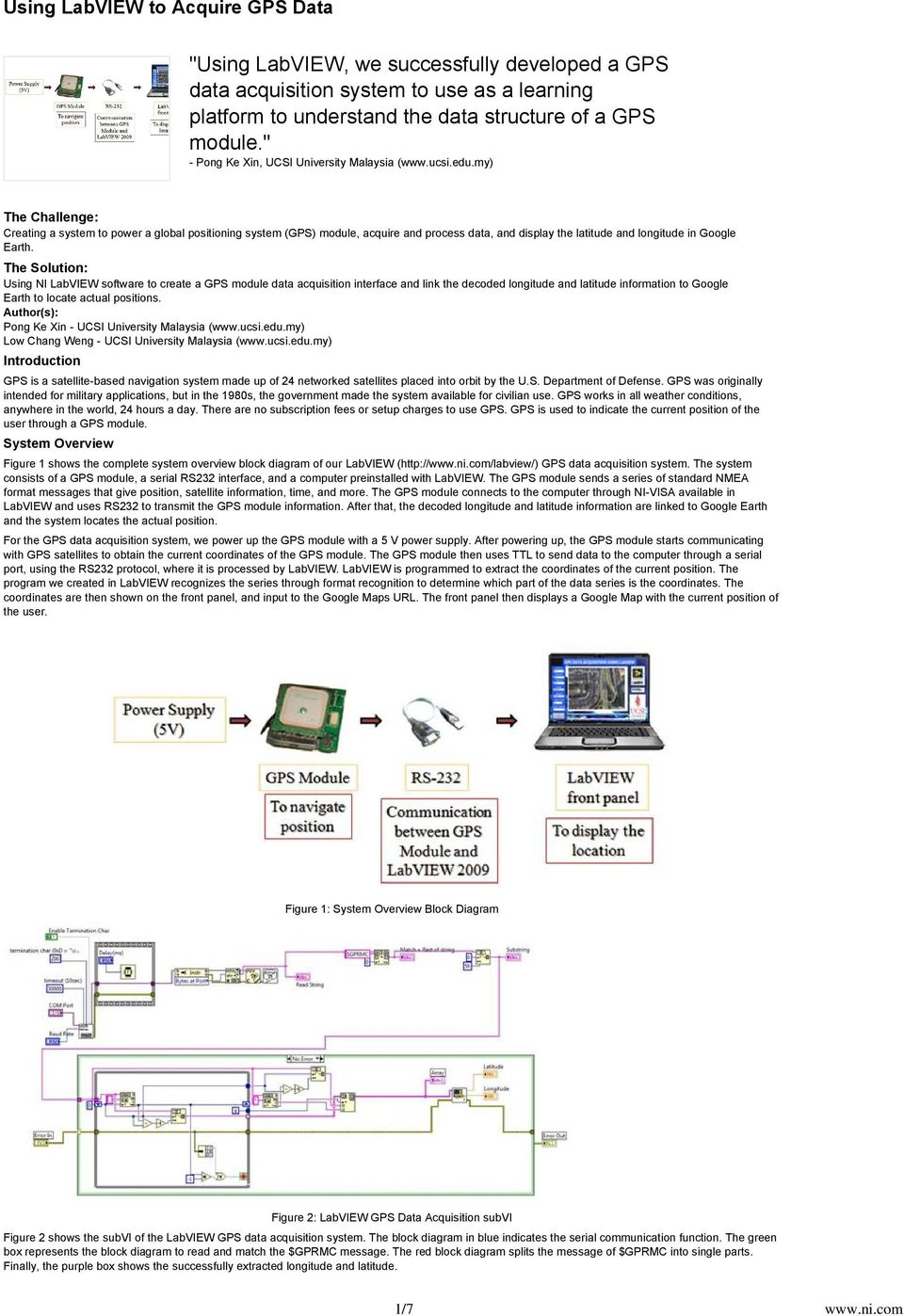 Figure 1 System Overview Block Diagram Pdf Google My The Challenge Creating A To Power Global Positioning Gps