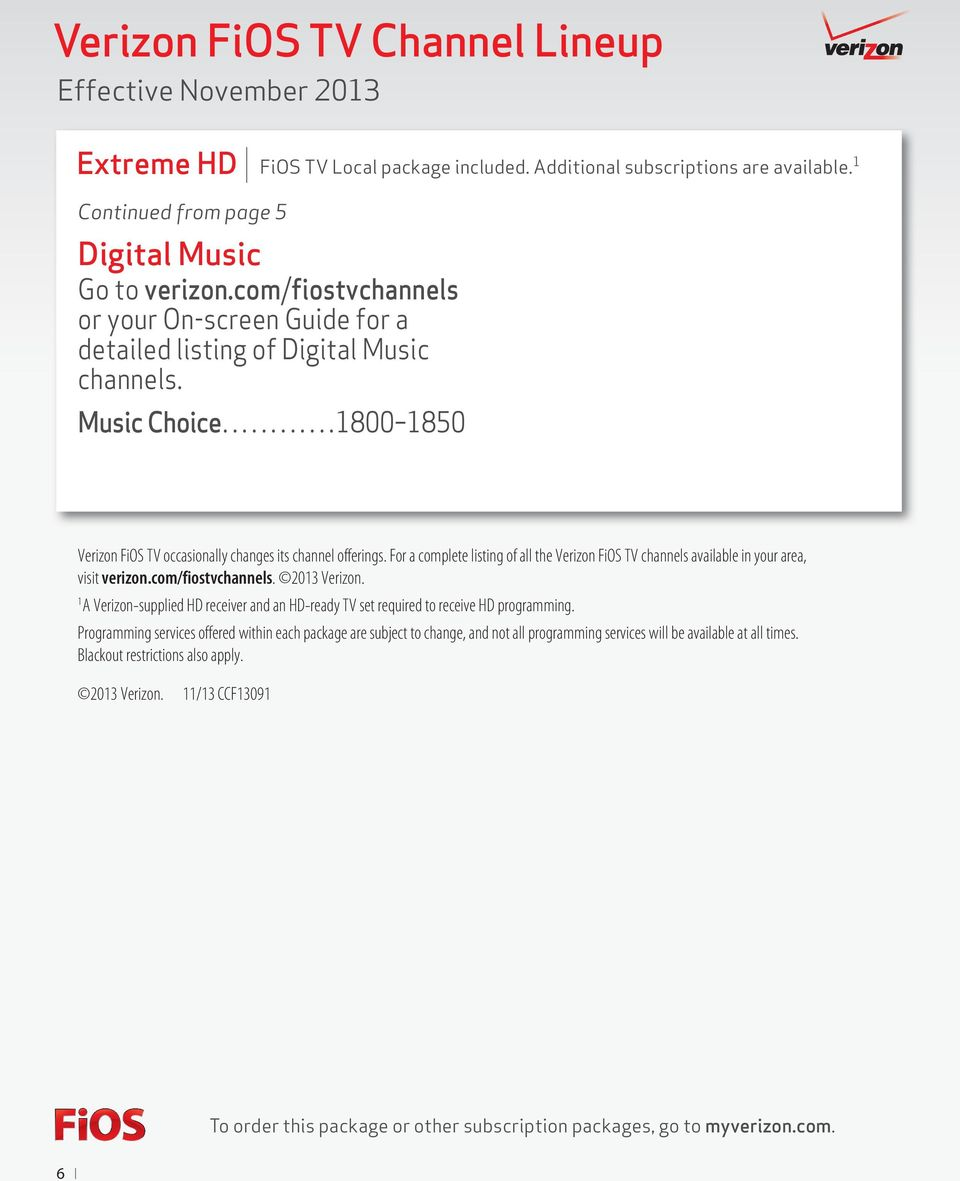 verizon fios tv channel lineup pdf