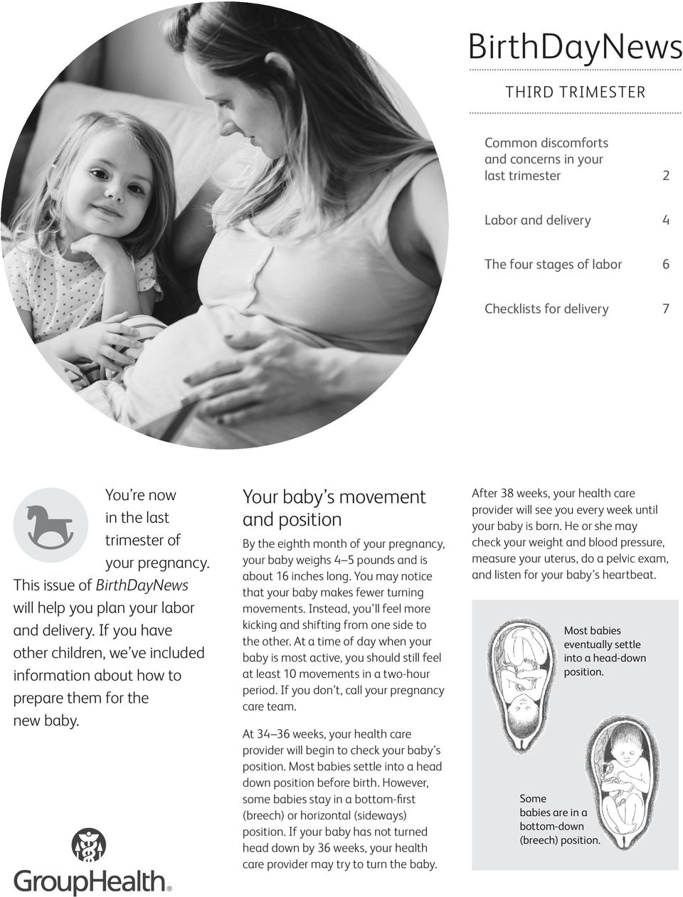 Your baby s movement and position - PDF