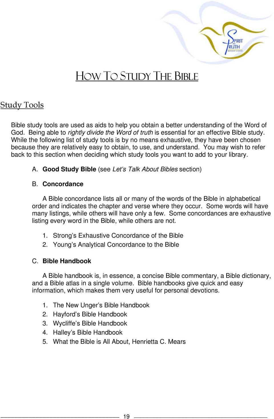 Bible Concordance And Commentary