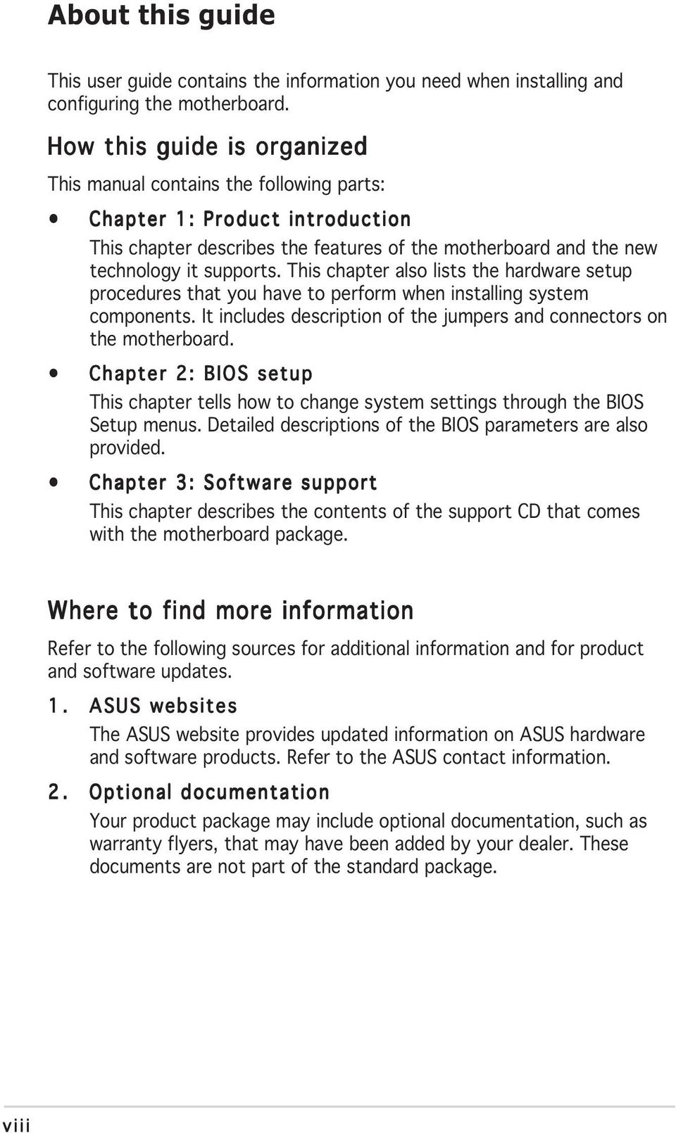 P5ld2 Vm Motherboard Pdf Diagram Of How All The Components Are Placed On Asus Cubx This Chapter Also Lists Hardware Setup Procedures That You Have To Perform When Installing System