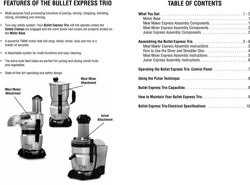 User Manual Bullet Express Llc All Rights Reserved Pdf