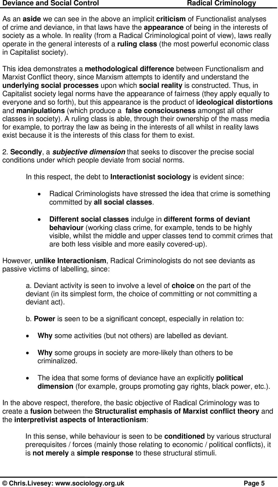 political deviance examples