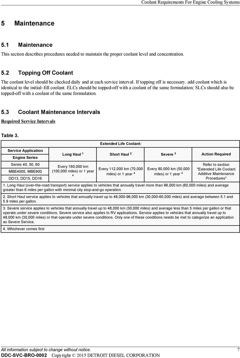 Coolant Requirements For Engine Cooling Systems - PDF