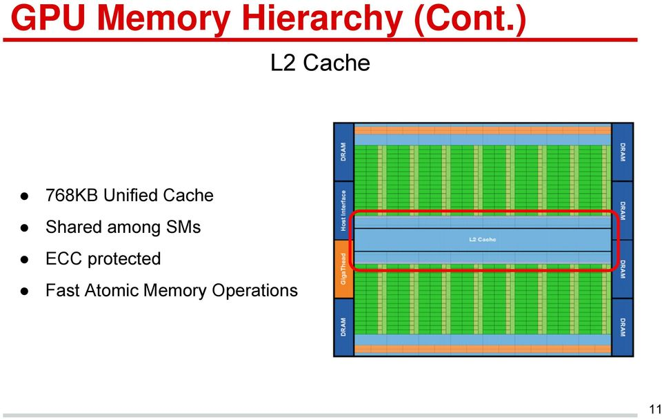 Graphics Processing Unit (GPU) Memory Hierarchy  Presented by Vu