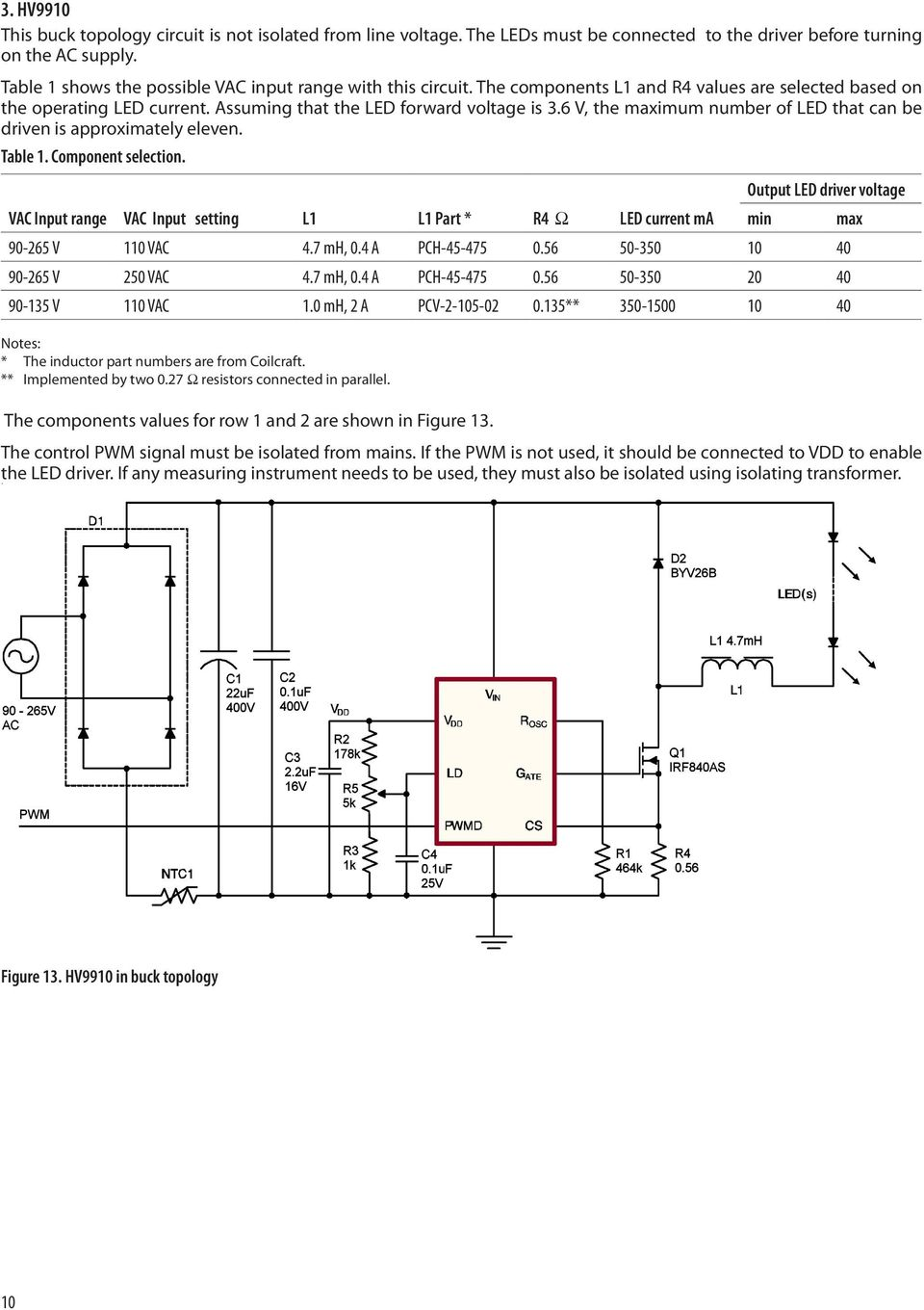 Application Note Pdf Smps 50 Watt Led Street Light Driver Circuit Electronic 6 V The Maximum Number Of That Can Be Driven Is Approximately Eleven