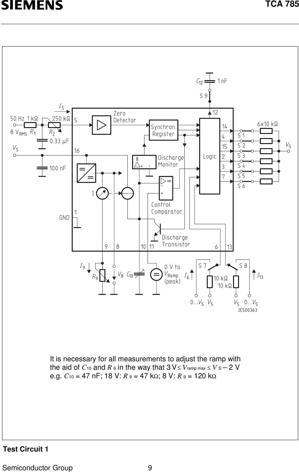 Phase Control Ic Tca Pdf Other Circuits Gt 555 Lm555 Ne555 Timer Negative Voltage That 3 Ramp Max S 2 Eg