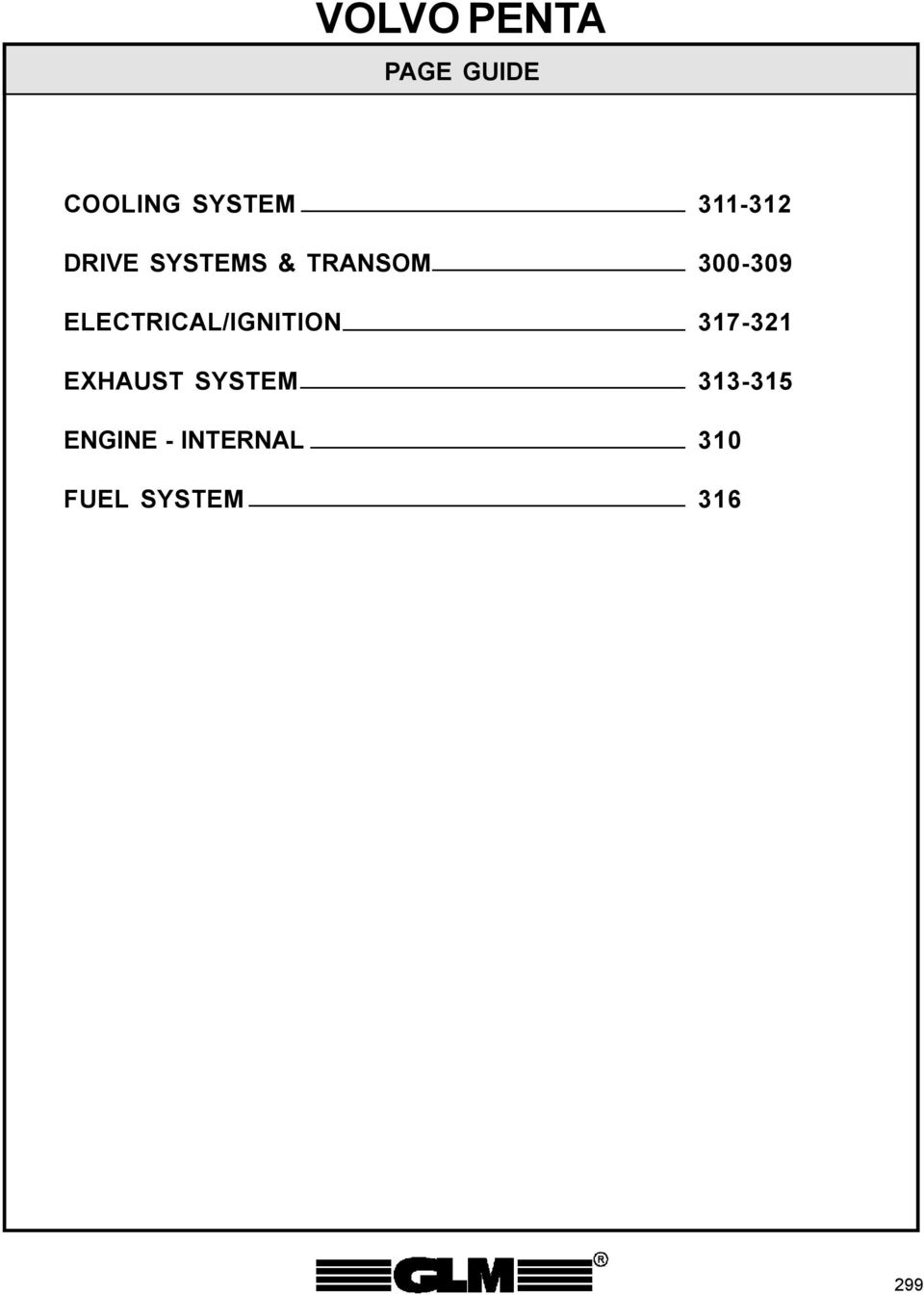 Volvo Penta Page Guide Cooling System Drive Systems Transom 270 Trim Wiring Diagram Transcription