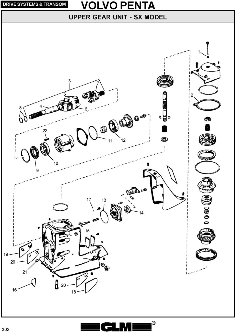 270 Outdrive Diagram On Diagram Of A Water Pump Schematic Cooling