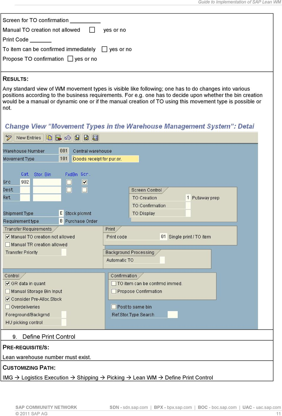Guide to Implementation of SAP Lean WM - PDF