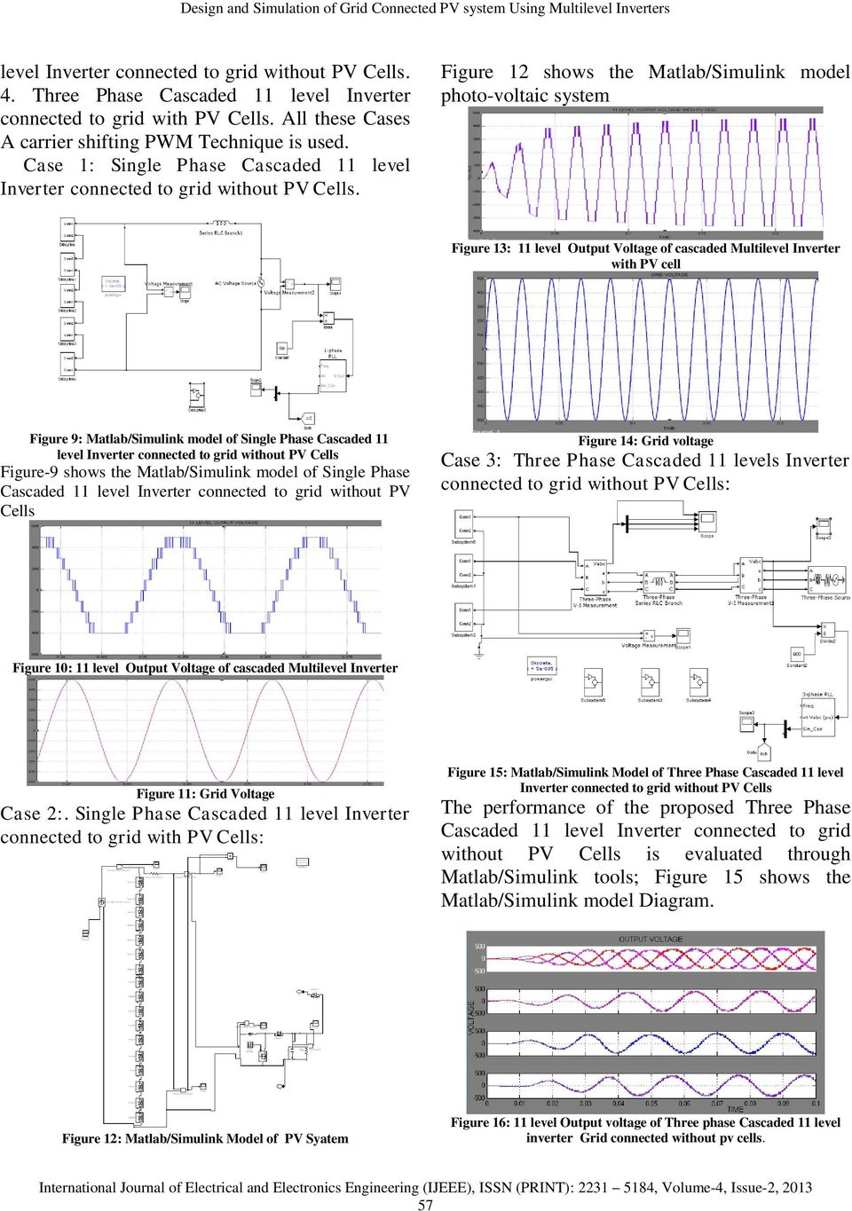 Design and Simulation of Grid Connected PV system Using