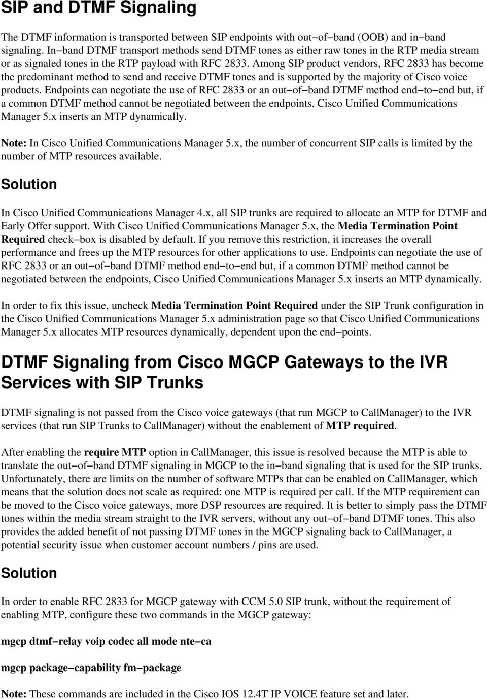 Troubleshooting SIP Trunks with Cisco CallManager 5 x and Later - PDF