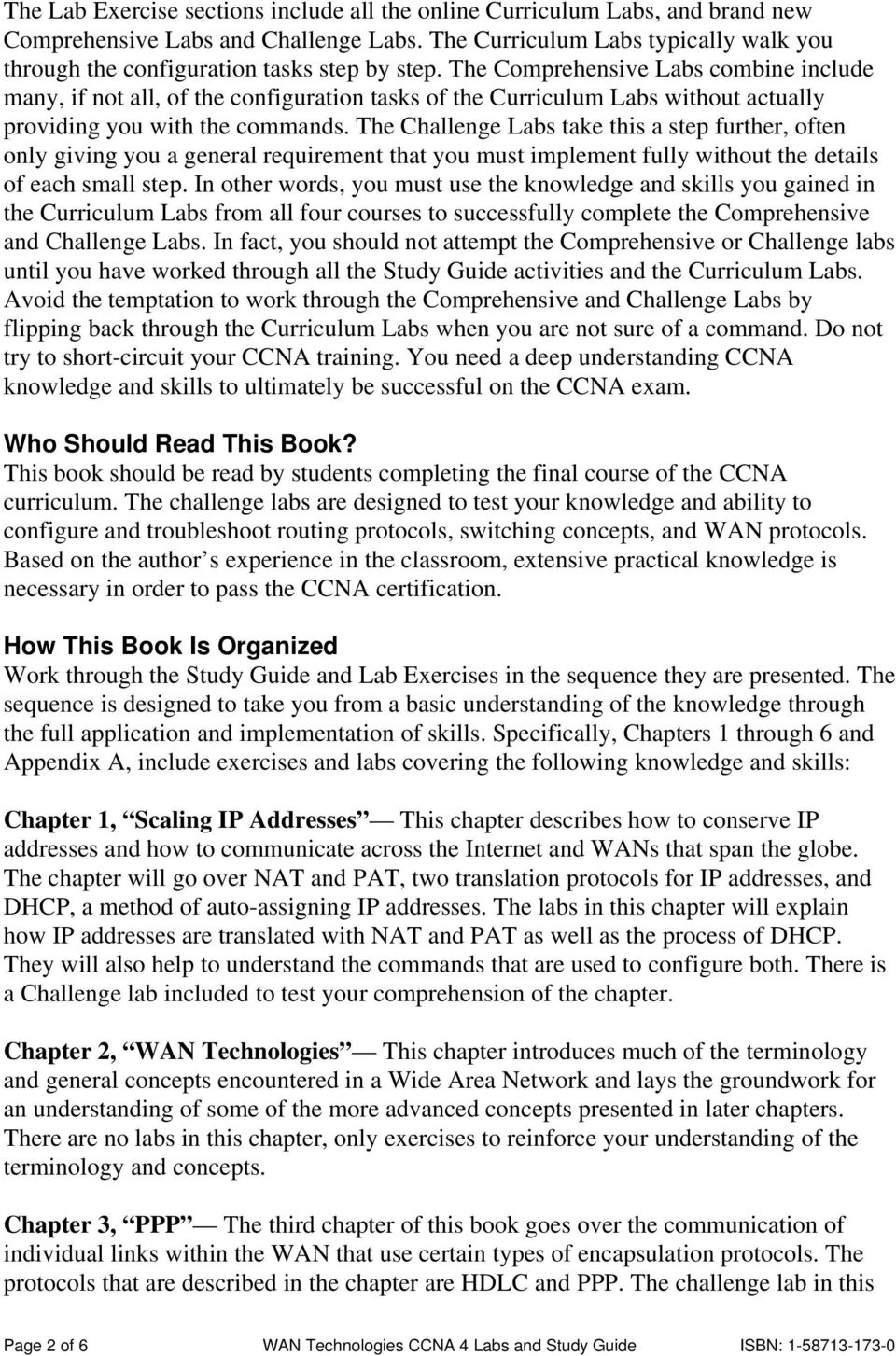 Ccna 3 chapter 1 study guide term paper sample 1406 words.