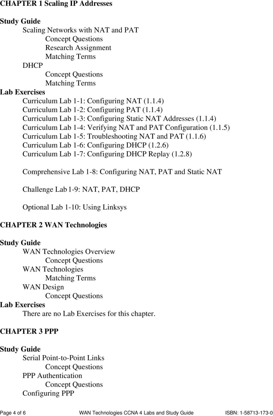 2.6) Curriculum Lab 1-7: Configuring DHCP Replay (1.2.8)