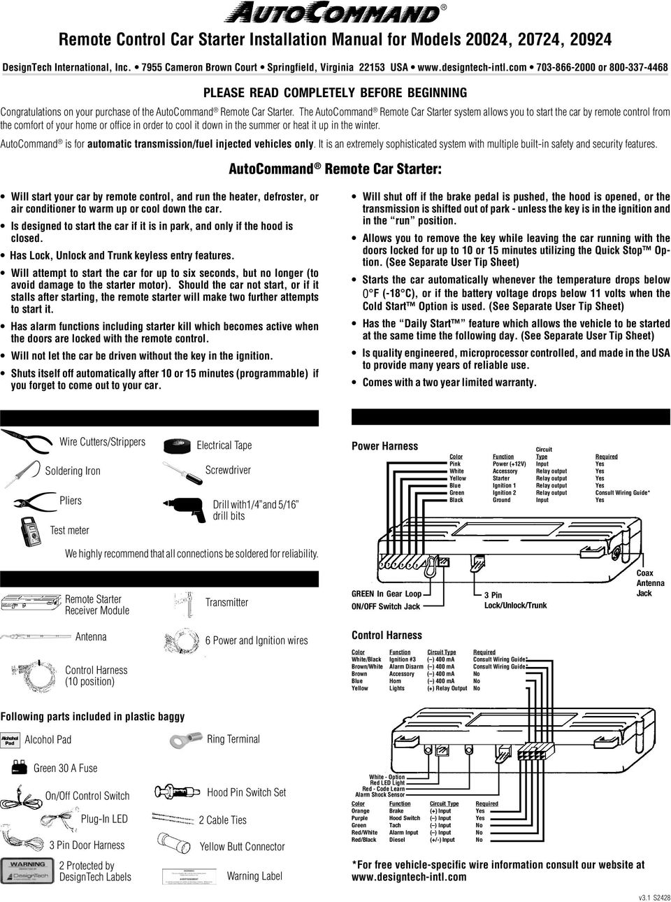 [SCHEMATICS_48DE]  Designtech Remote Starter Wiring Diagram | Online Wiring Diagram | Design Tech Remote Starter Wiring Diagram |  | Wiring Diagram