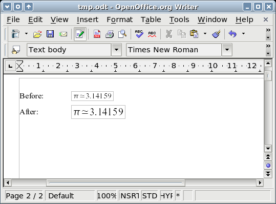 Math Guide  The OpenOffice org Equation Editor - PDF