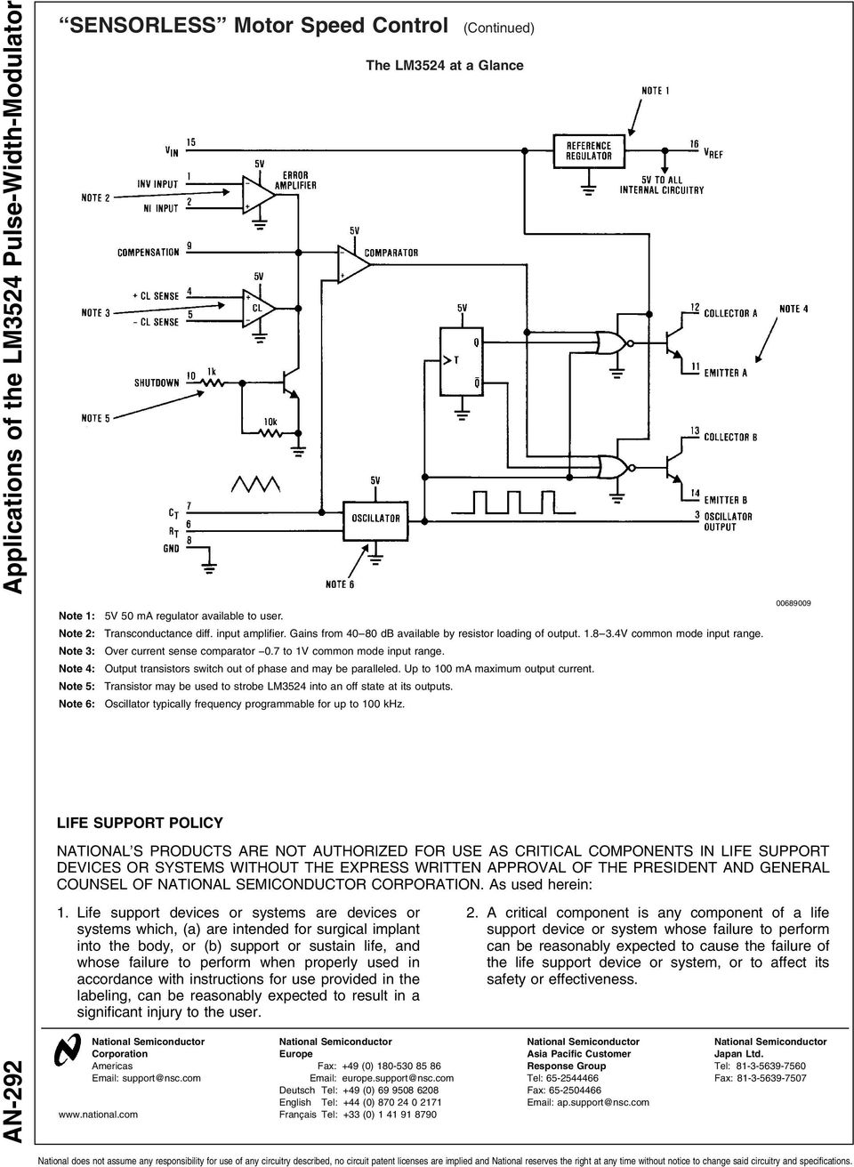 Figure 2 3 Pdf The Circuit Schematic For Lm339 Quad Voltage Comparator Note 4 Output Transistors Switch Out Of Phase And May Be Paralleled Up To