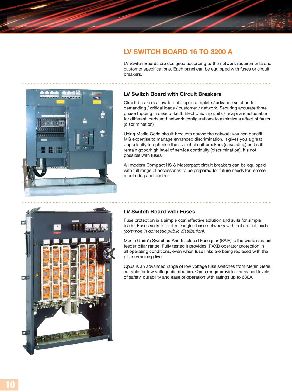 MV/LV Prefabricated Substations  A solution to meet your power needs