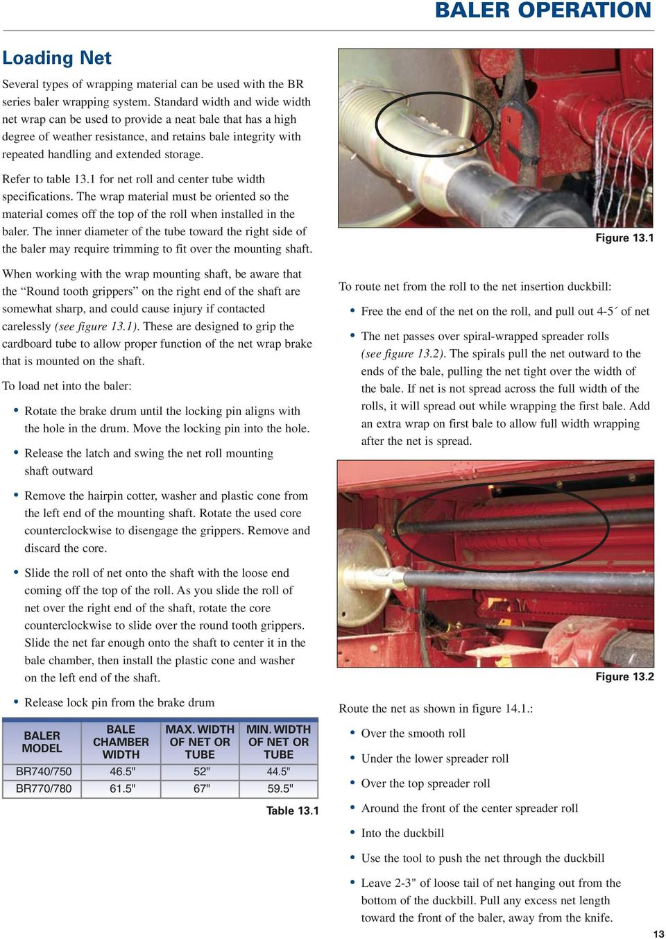 Performance Tips New Holland BR Series Round Baler - PDF