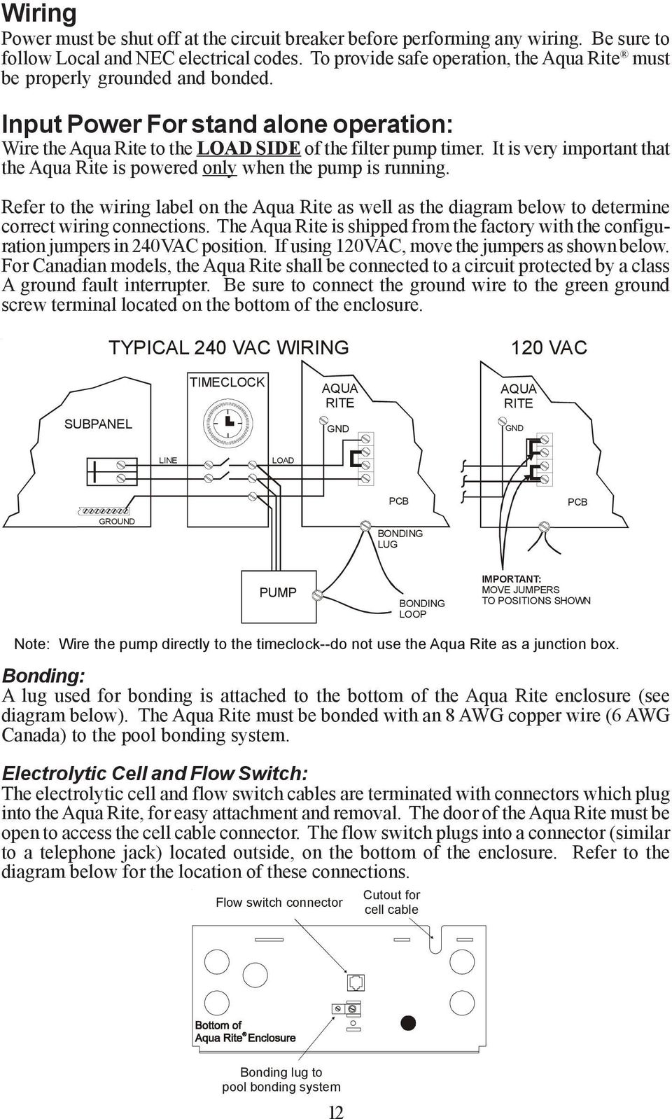 Pool Bonding Diagram In Addition How To Wire A Light Switch Wiring