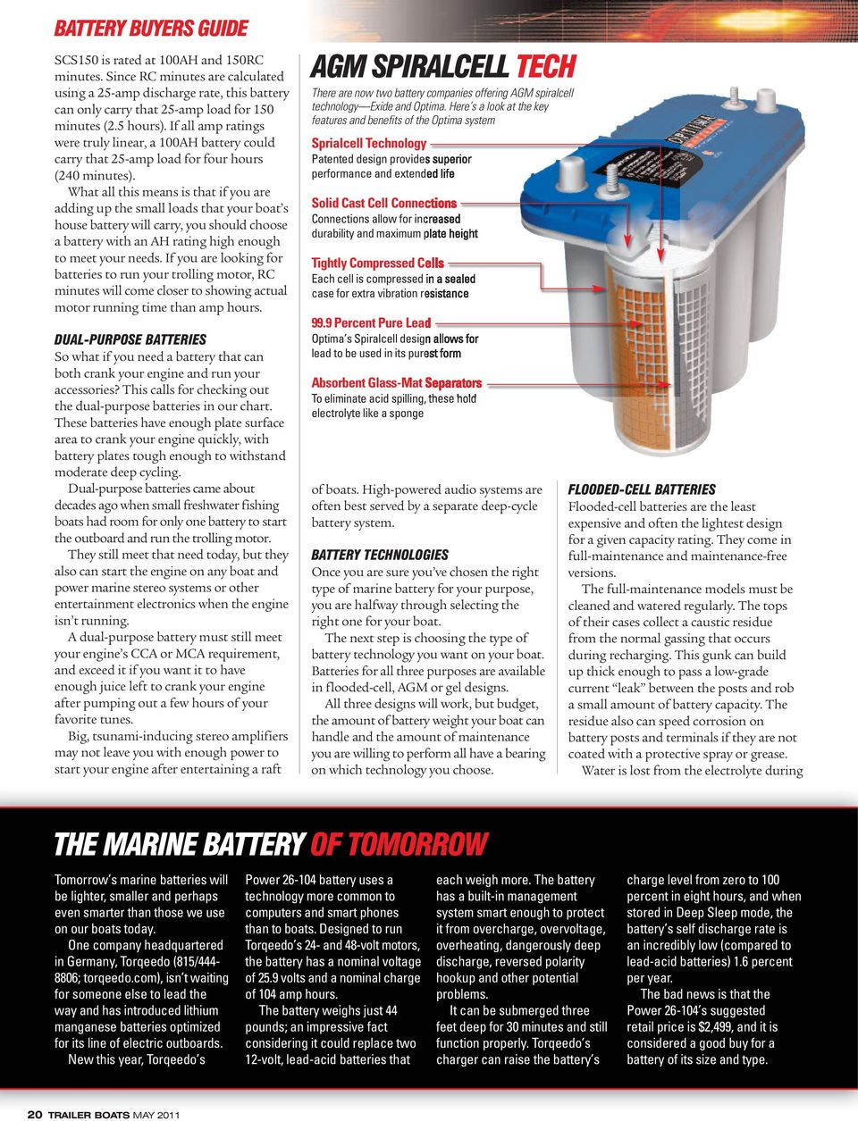Marine 12 Volt Batteries Having The Right Can Make A Big Dry Cell Battery Diagram And Car What All This Means Is That If You Are Adding Up Small Loads Your