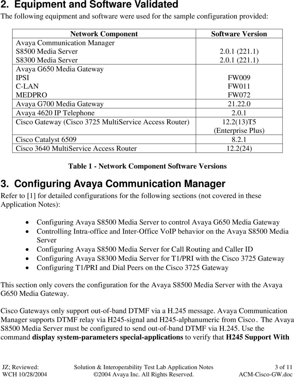 Configuring Avaya Communication Manager with Cisco VoIP