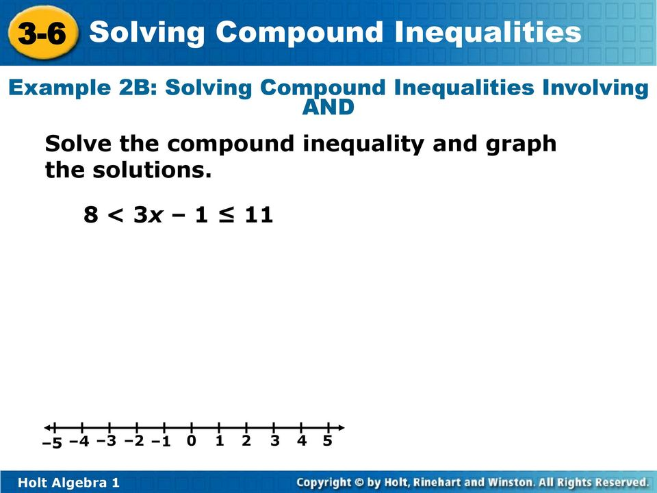 3 6 Solving Compound Inequalities Pdf