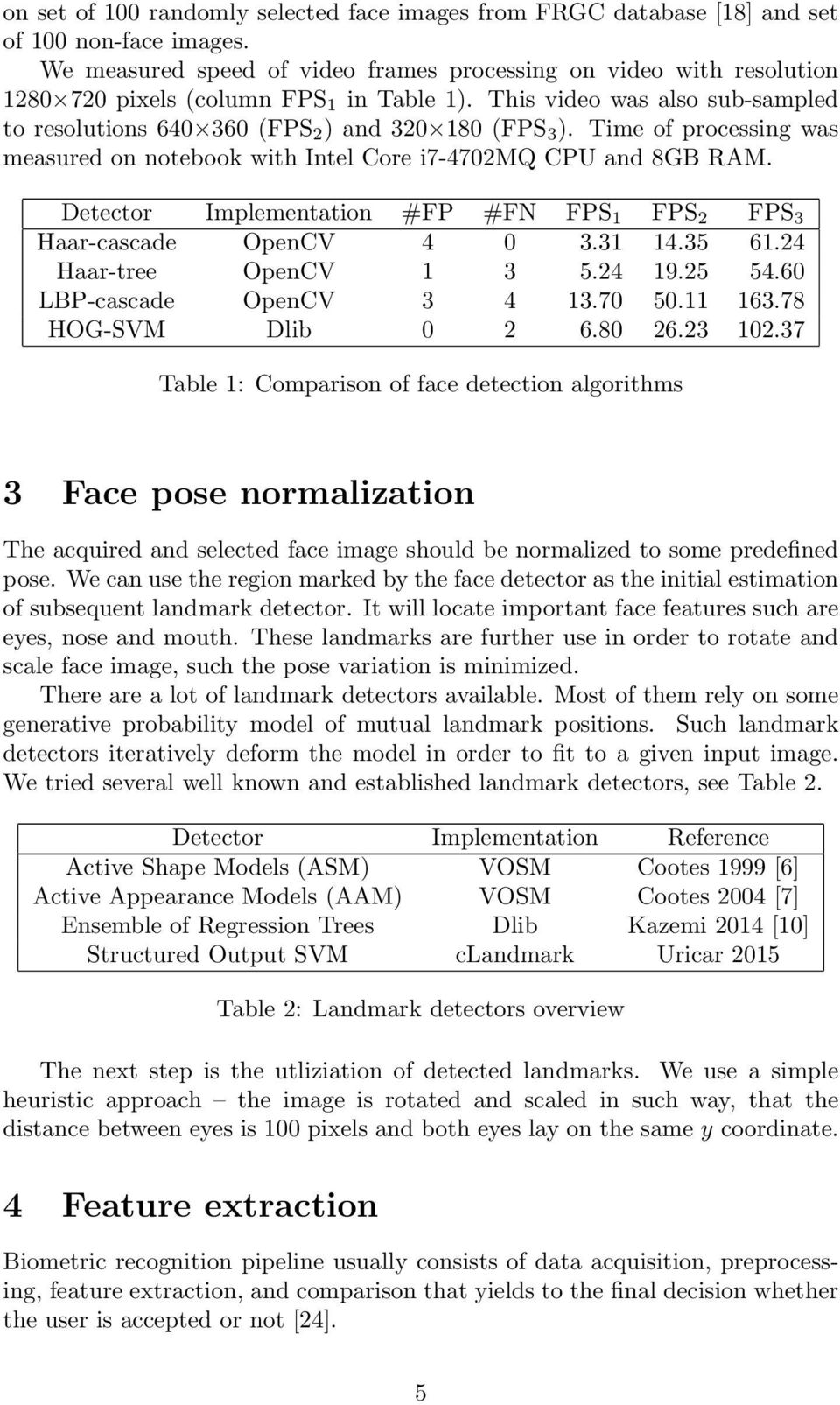 Real-time Face Recognition - PDF