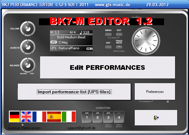 Manual BK7 - EDITOR  BK-7m is a registered trademark by ROLAND