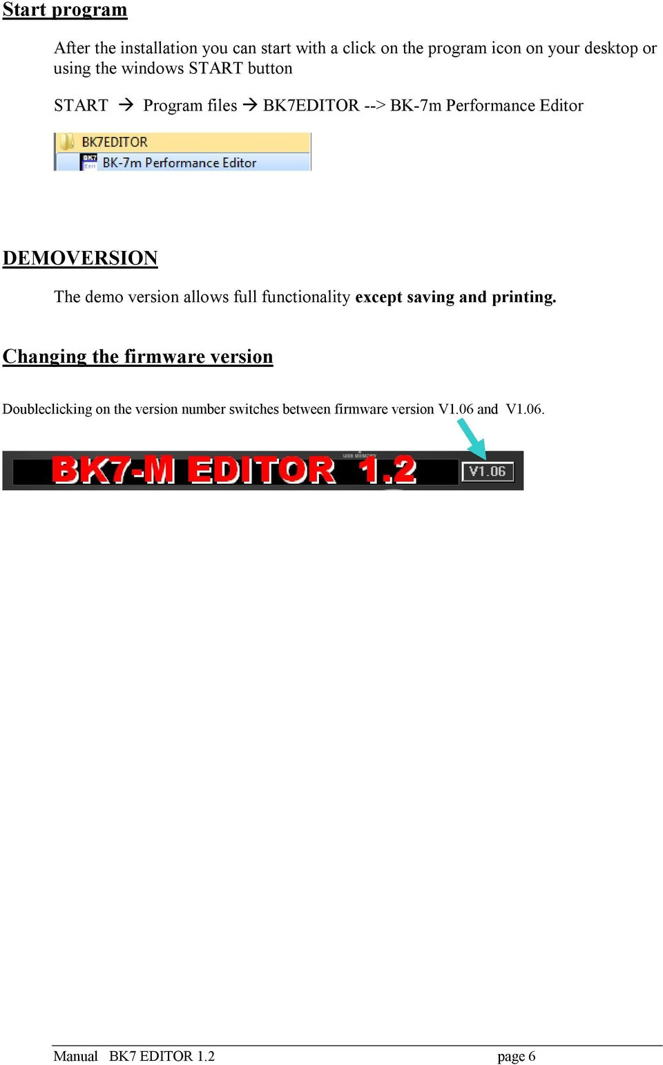 Manual BK7 - EDITOR  BK-7m is a registered trademark by