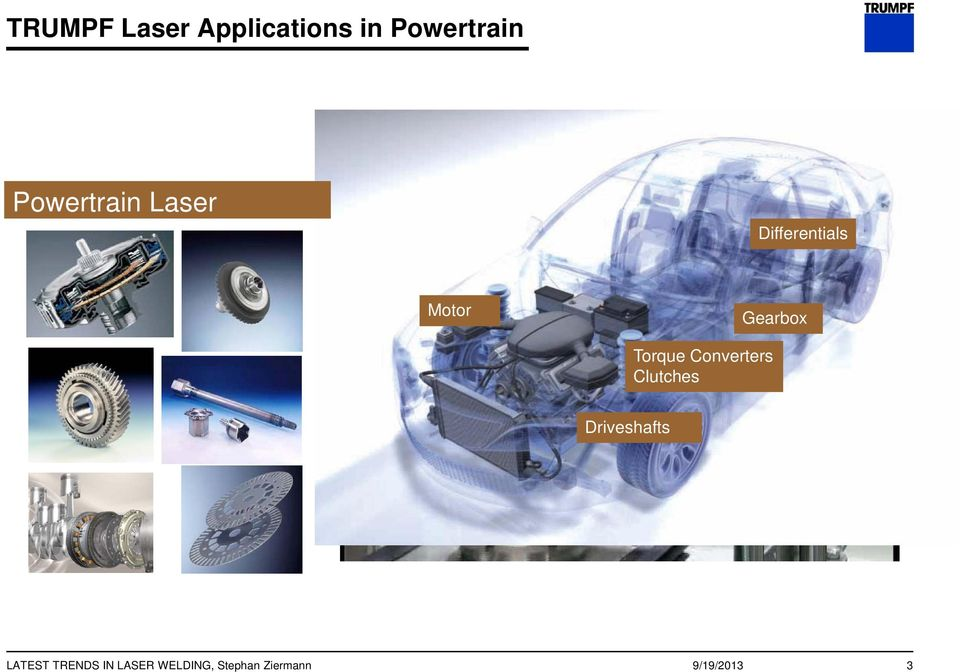 OF POWERTRAIN COMPONENTS - PDF