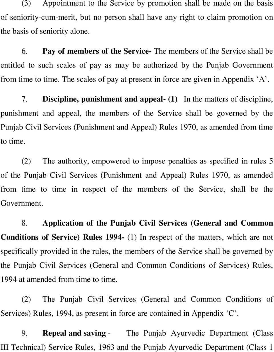 7th Pay Commission Punjab Govt Notification